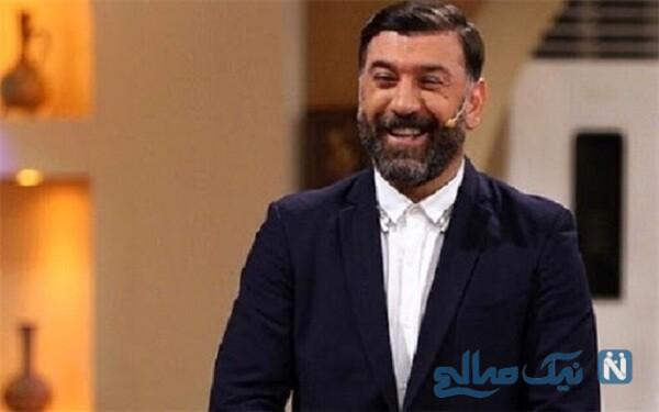 شوخی علی انصاریان بازیگر معروف
