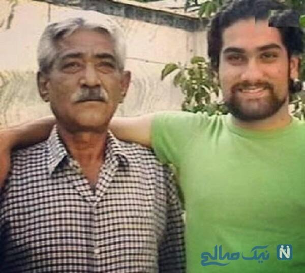علی زند وکیلی خواننده معروف و پدرش