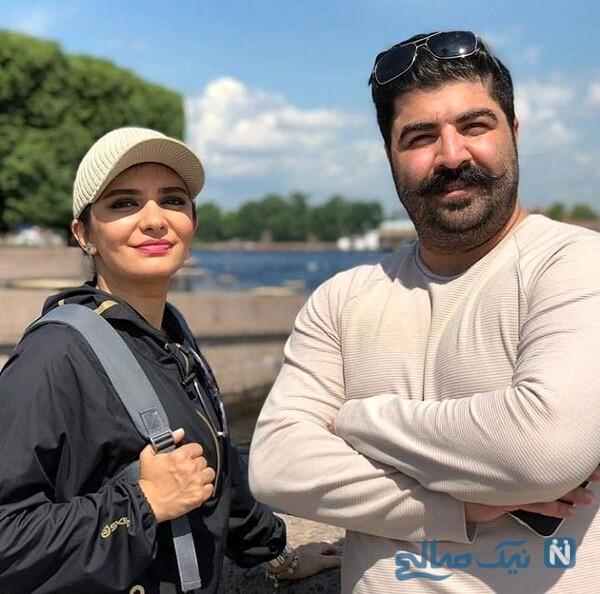 بهنام بانی و خانم بازیگر