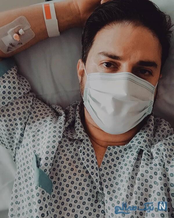 بابک جهانبخش در بیمارستان