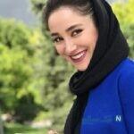 استایل شیک بهاره افشاری با ست زیبای کفش و کاپشن اش
