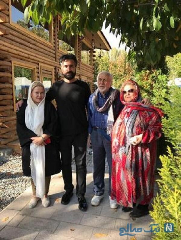 خانواده بهاره رهنما در لواسان