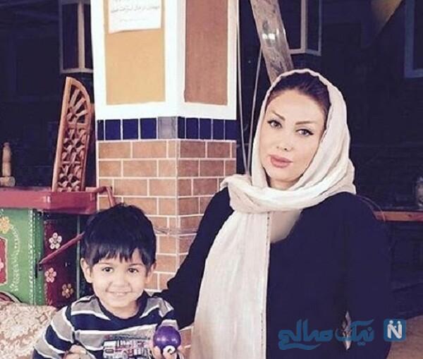 همسر و پسر محسن چاووشی