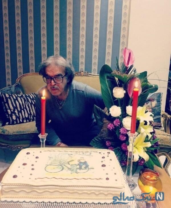 جشن تولد حمید لولایی