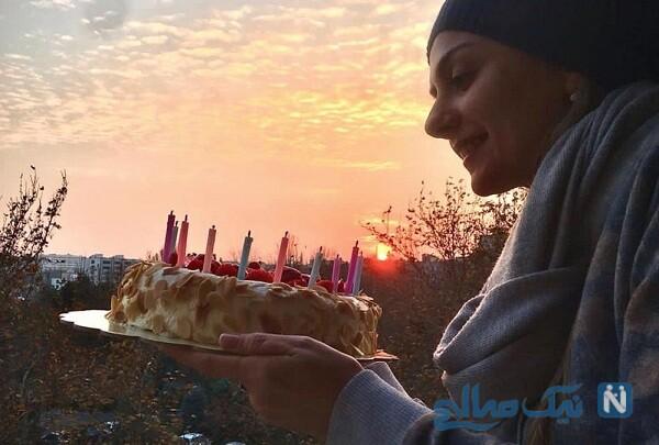 کیک تولد بیتا سحرخیز