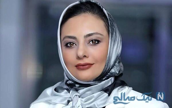 تبریک تولد ویژه یکتا ناصر برای سارا نجفی بازیگر سریال دل