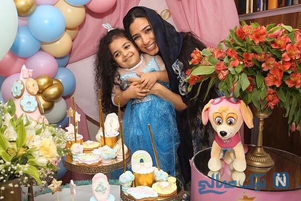 تبریک یکتا ناصر برای تولد سارا نجفی