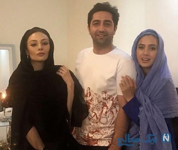 تبریک تولد یکتا ناصر به سارا نجفی