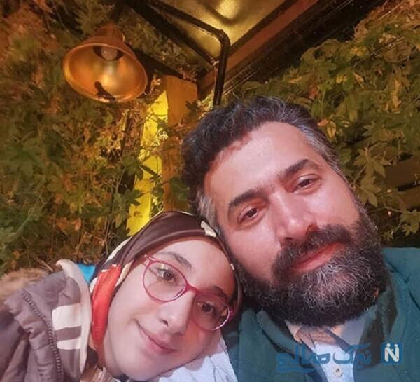 همسر بهاره رهنما و دخترش