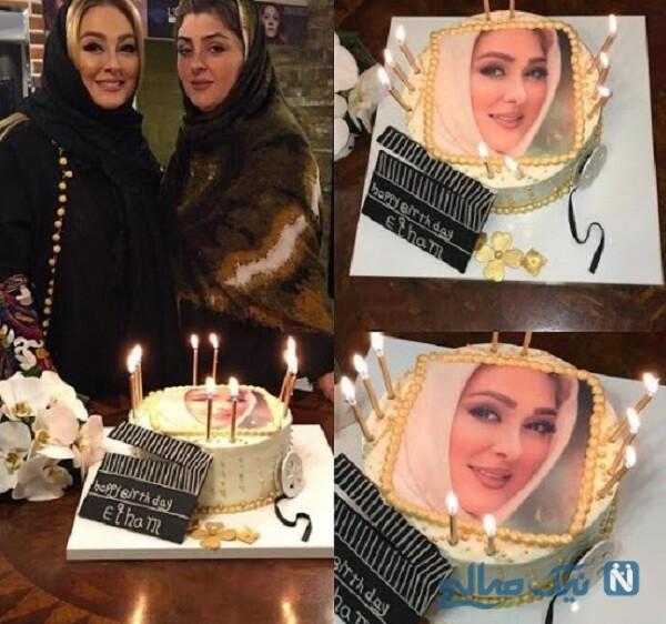 جشن تولد الهام حمیدی