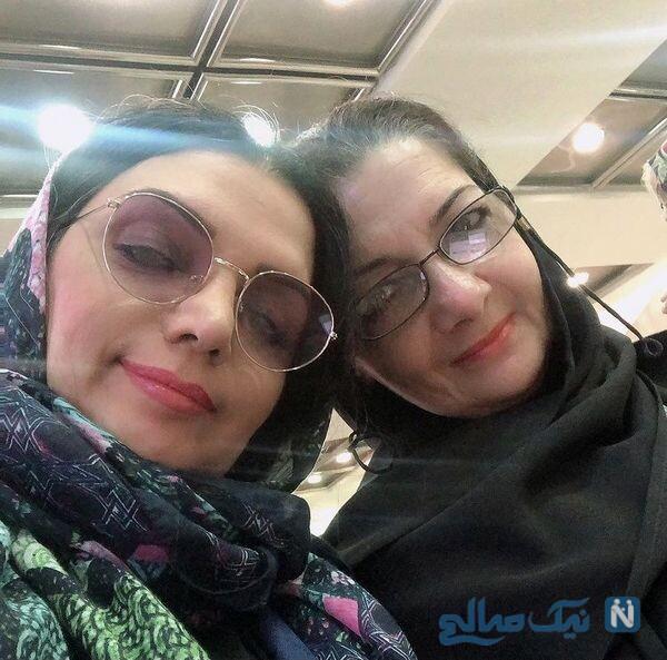 شباهت جالب الهام پاوه نژاد به خواهرش