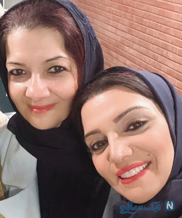 شباهت الهام پاوه نژاد و خواهرش