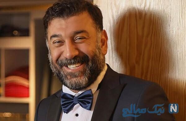 تغییر چهره عجیب علی انصاریان با گریم دیده نشده در فیلم بانک زده ها