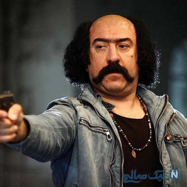 چهره متفاوت علی انصاریان در فیلم جدیدش