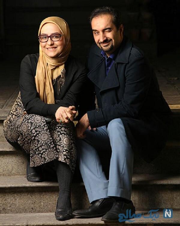 آقای مجری و همسرش