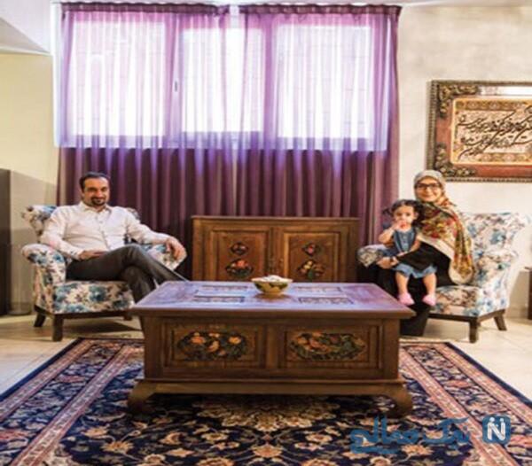 دکوراسیون خانه نیما کرمی و زینب زارع