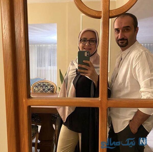 نیما کرمی و همسرش در خانه لوکس شان