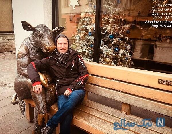 هوتن شکبا بازیگر معروف در خارج از کشور