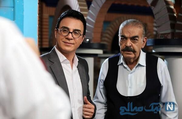 حمید لولایی بازیگر ایرانی و عمو پورنگ