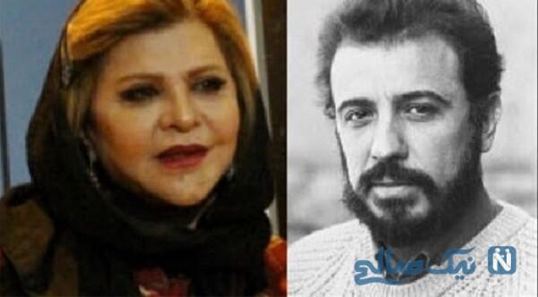 علی حاتمی و همسرش