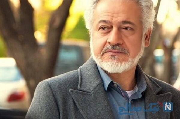 استایل جدید مجید مشیری بازیگر در کنار همسر جوانش