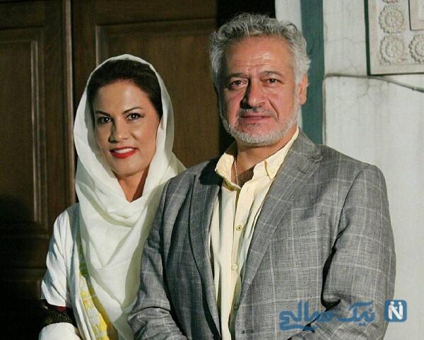تصویری از مجید مشیری و همسرش