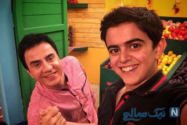امیر محمد و عمو پورنگ