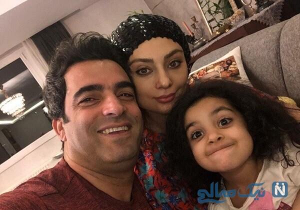 دختر و همسر کارگردان معروف