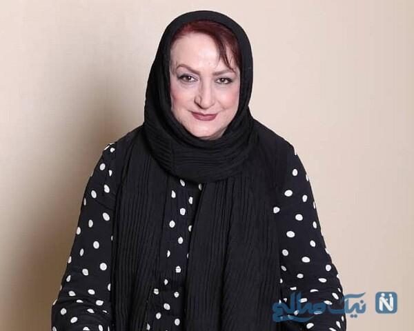 تصویری از مریم امیر جلالی بازیگر ایرانی