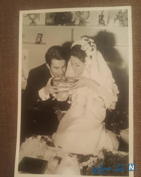 عکس عروسی مریم امیر جلالی بازیگر