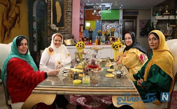 خانم های بازیگر در شام ایرانی