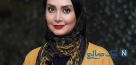 لباس عروس زیبای مریم خدارحمی بازیگر سریال دخترم نرگس