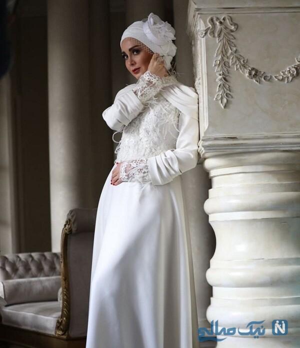 لباس عروس خانم بازیگر