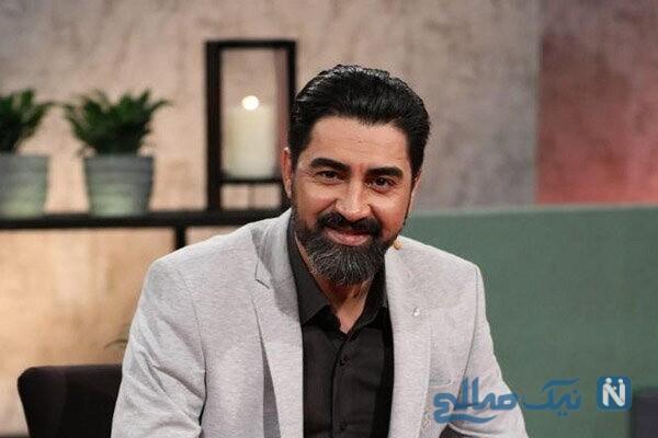 سلفی محمدرضا علیمردانی بازیگر معروف با همسر و دخترش