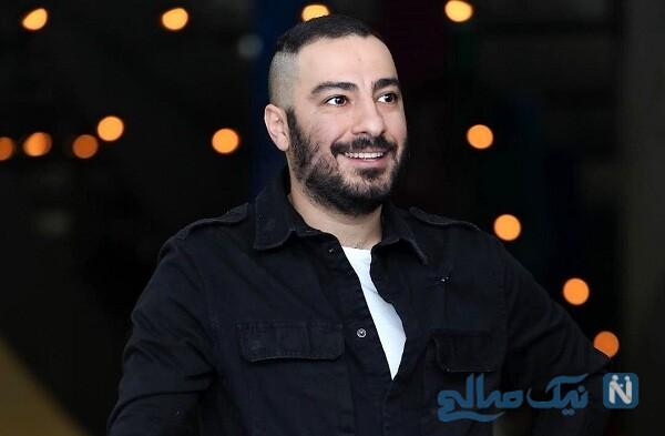 عکس سلفی جالب نوید محمدزاده بازیگر سریال قورباغه با برادرش