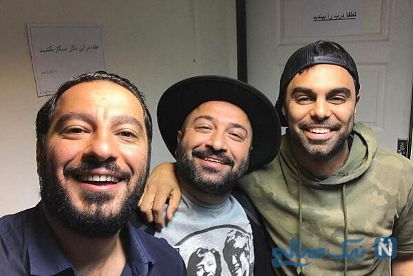 سلفی نوید محمدزاده و برادرش