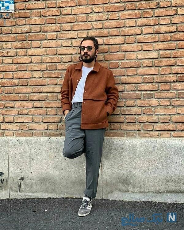 تیپ های عجیب نوید محمدزاده بازیگر