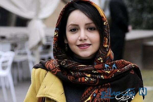 عکس سلفی نازنین بیاتی بازیگر سریال مانکن با گوشی لاکچری اش
