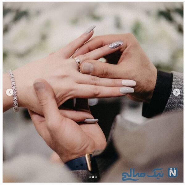 عروسی نگین معتضدی