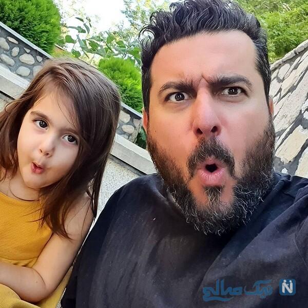 عکس جدید دختر محسن کیایی بازیگر