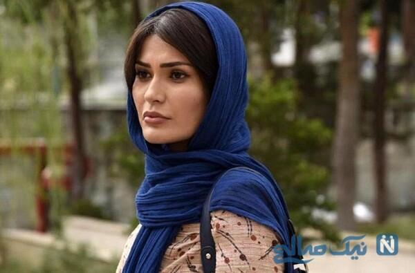 غواصی شیوا طاهری بازیگر سریال گذر از رنج ها در دریا