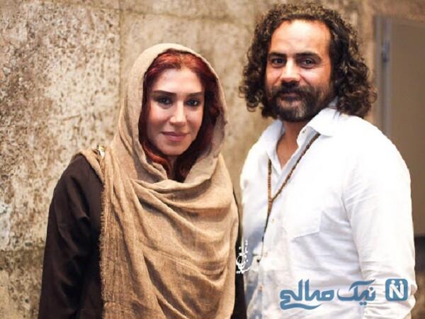 تصاویر جدید نسیم ادبی و همسرش