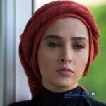 عکس یلدایی آناهیتا درگاهی همسر اشکان خطیبی در باغ انار