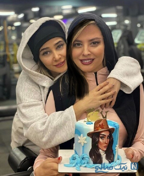 الناز حبیبی در تولد دوستش