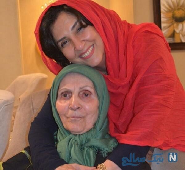 عکس مادر مرجانه گلچین بازیگر