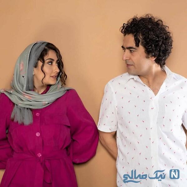 جدیدترین عکس های الهام طهموری و همسرش