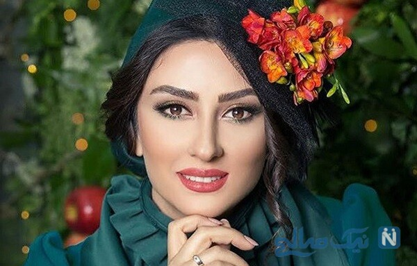 تصاویر عاشقانه الهام طهموری بازیگر سریال شرم و همسرش