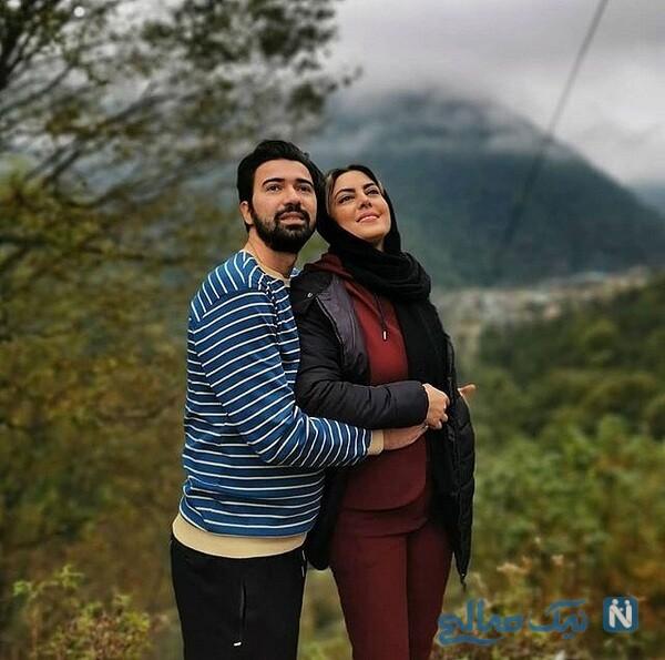 جدیدترین عکس های نیلوفر شهیدی و همسرش
