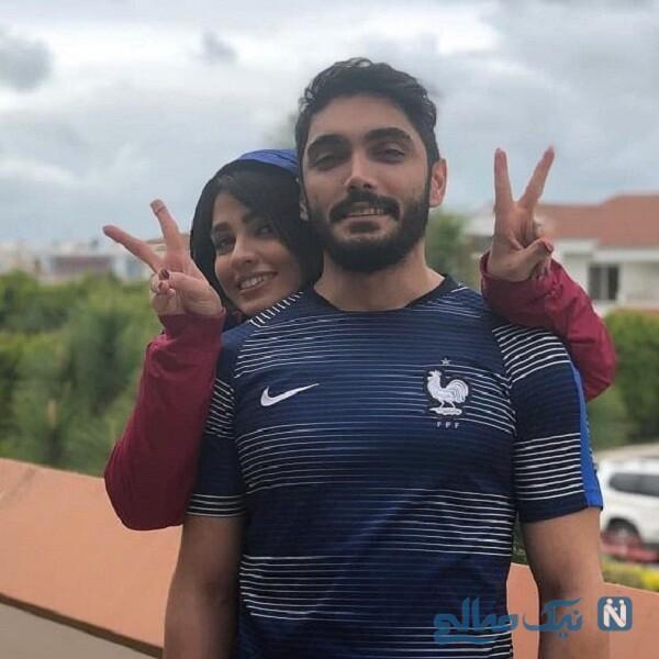 زیباترین تصاویر سیما خضرآبادی و همسرش