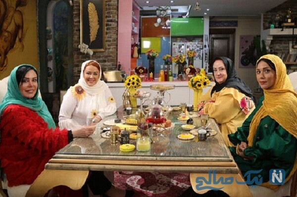 مریم امیرجلالی در شام ایرانی